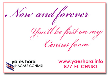 Now and Forever Census Postcard