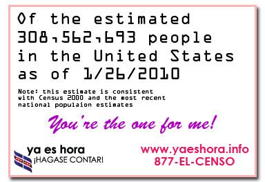 Data Love Census Postcard
